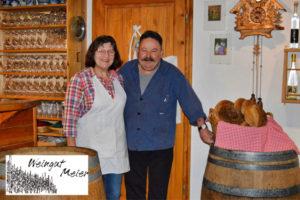 1989 gründeten ELVIRA und THOMAS MEIER das heutige – Weingut MEIER -